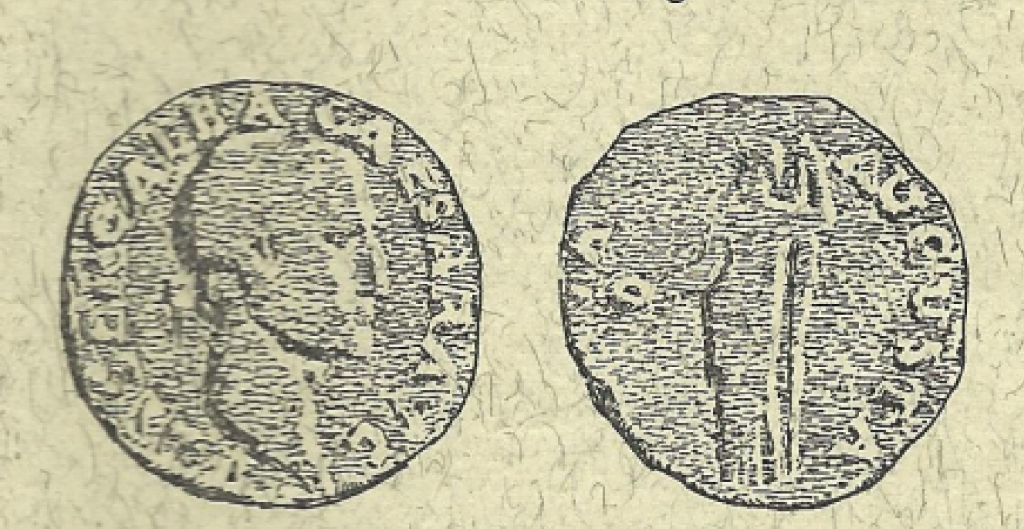 Roman coins found in Würselen