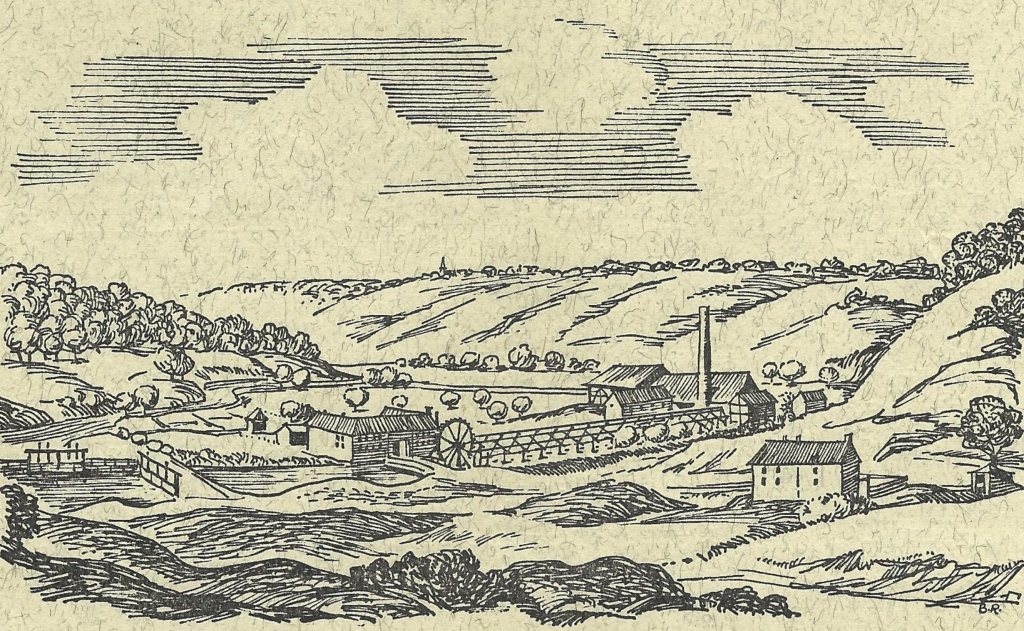 The old Teut pit in the Worm Valley (circa 1780)