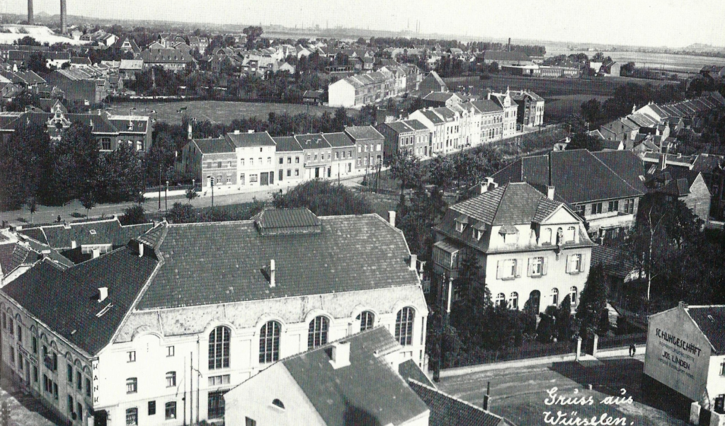 View from St. Sebastian 1930