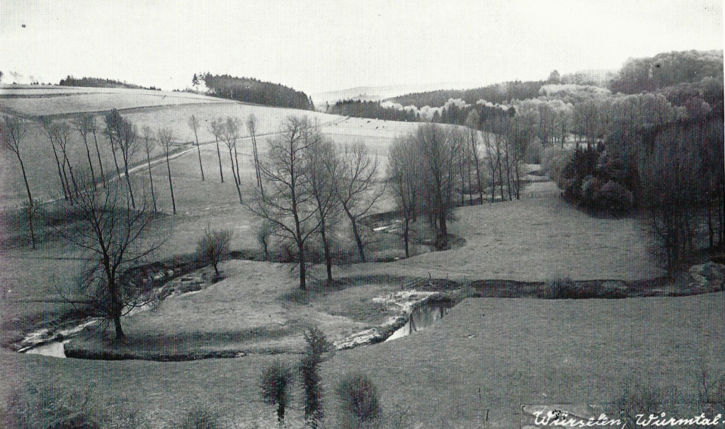 View into the Wurm valley, 1930